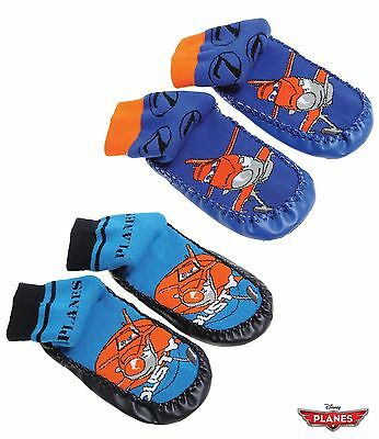 Disney Planes Slipper Socks Boys Kids New Official