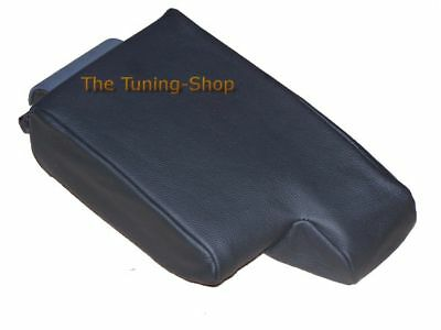 For Bmw E36 Black Leather Replacement Cover For Armrest Part Not Lid