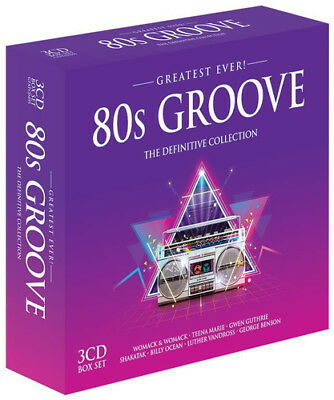 Various Greatest Ever 80s Groove: The Definitive CD ***NEW***