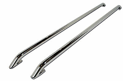 VW T5 Transporter SWB Roof Rails OE Genuine Style Stainless Steel Roof Bars
