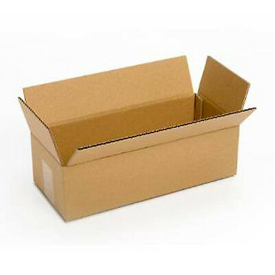 Small Cardboard Delivery Boxes 25 Pack 14x6x4 Packing Shipping Mailing Moving