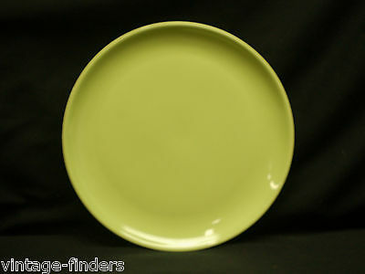 "Old Vintage Ranch Style ~ Lime Yellow by Salem 10"" Dinner Plate Discontinued"