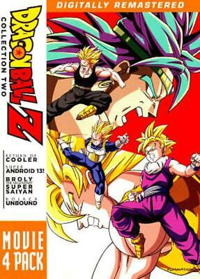 Dragonball Z: Movie 4 Pack - Collection Two New Dvd