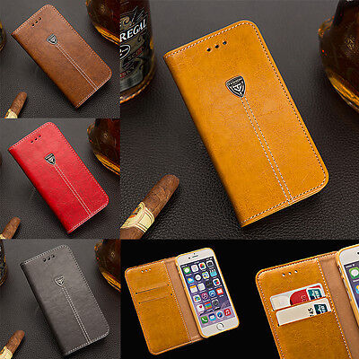 Wallet Case Cover Card Holder Stand Luxury Leather Flip For Apple iPhone Pouch