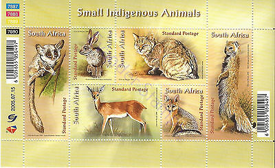 South Africa 2005 Small Indigenous Animals. MNH