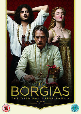 The Borgias: Seasons 1 - 3 (Box Set) [DVD]