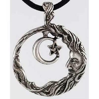 Moon within a Pentacle Moon Wisdom Pendant!