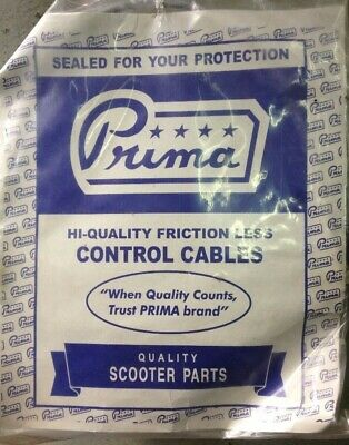Prima scooter choke cable large frame