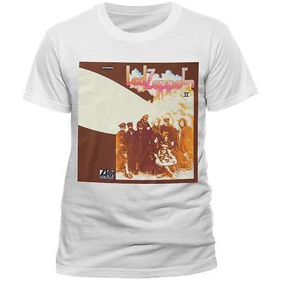 Led Zeppelin - Led Zeppelin II Artwork Mens T-Shirt - New & Official In Bag