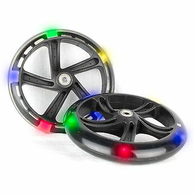 PU 200mm Light Up Wheels Replacement Wheels for Cityroller 5 LED - 2 Pcs