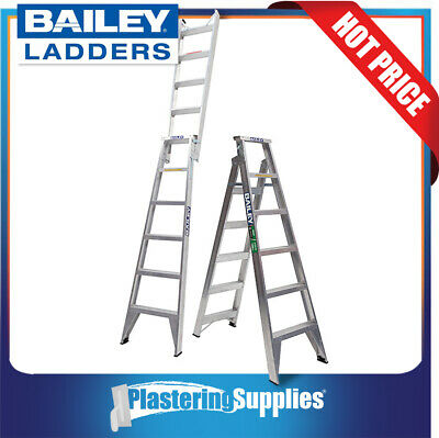 Bailey Dual Purpose Ladder 1.8m - 3.2m 150kg Pro  with Tree/Pole Support FS13570