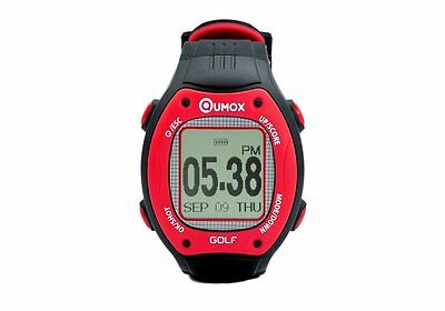 QUMOX Golf Watch GPS Watch Hole Distance Score Counter Rangefinder