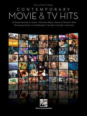 Brand New CONTEMPORARY MOVIE & TV HITS PVG Sheet Music