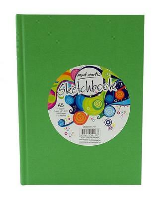 Mont Marte Sketch Book A5 Hard Cover 220page 110gsm