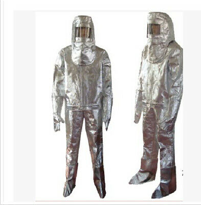 Thermal Radiation 1000 Degree Heat Resistant Aluminized Suit Fireproof Clothes a
