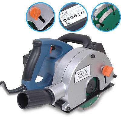 150mm 1700w 220v ELECTRIC WALL CHASER SLOTTER SAW CABLE CHASING POWER TOOL KIT