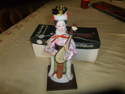 New In Box Wang Zhan Jun Min2002 Chinese Doll Quality Of Riren Craftwork China