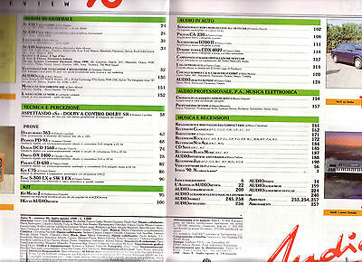 AUDIOreview n. 96 - luglio/agosto 1990 - Dolby Sr contro Dolby A
