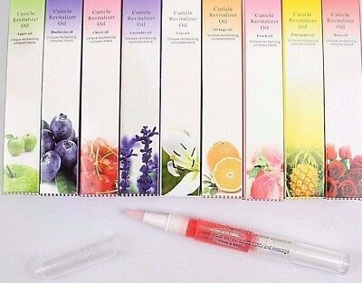 Brush On CUTICLE REVITILZER OIL PEN Manicure Hydration Conditioner Treatment
