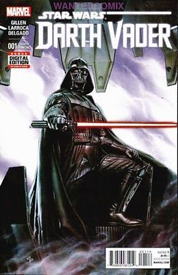 DARTH VADER #1 4th PRINT COVER STAR WARS MARVEL COMIC BOOK SITH LORD NEW