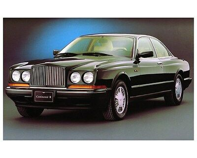 1992 Bentley Continental R Automobile Photo Poster zca3294