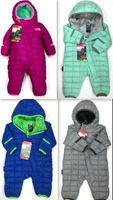 New North Face Infant Thermoball™ Bunting Winter Plush And Soft Crx9