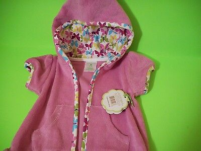 Vera Bradley FLUTTERBY BABY Beach COVER-UP 3-6 Months NWT