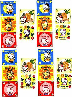 Sanrio Hello Kitty Scratch n Sniff Scented Fruity 20 Stickers!