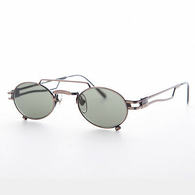 Small Steampunk Aviator with Oval Lens Copper NOS-The Professor