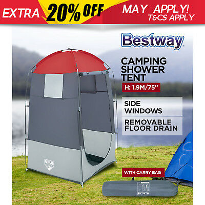 Bestway Camping Toilet Shower Tent Portable Change Room Outdoor Ensuite Privacy