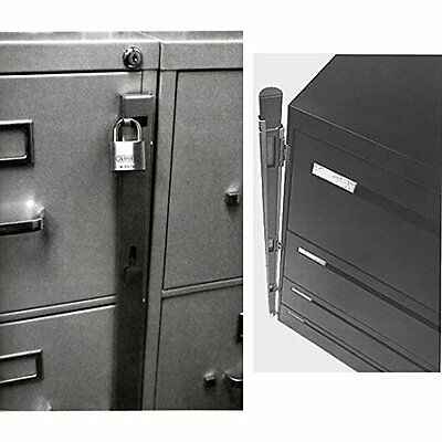 Locking Bar for Use with 4 Drawer Filing Cabinet by ABUS (07040)  BRAND NEW