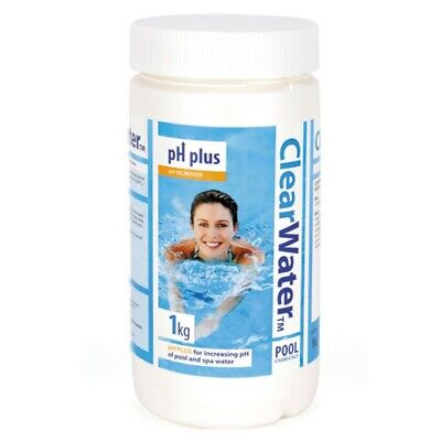 Clearwater - 1kg PH Plus - pH Increaser for Pools, Hot Tubs & Lay-Z-Spas CH0005