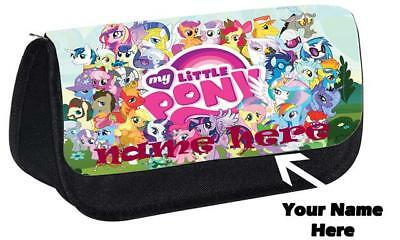 Personalised Custom Print My Little Pony Style Pencil Case DS Carrier Small Bag