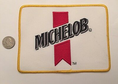 "Michelob Anheuser-Busch Embroidered Logo Beer Patch Budweiser Bud 5"" X 7"""