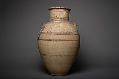 Large Ancient Cypriot Geometric Period Amphora - 950 BC