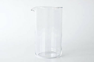 Alessi Replacement Glass for Coffee Press 33oz (Genuine Alessi Part)