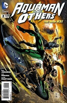 Aquaman And The Others #2 Vf/nm The New 52!