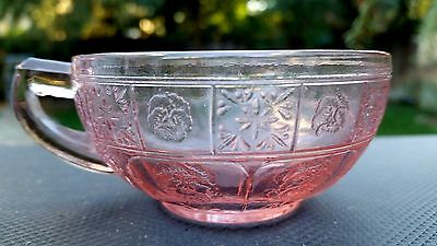 Pink Doric & Pansy Child Cup