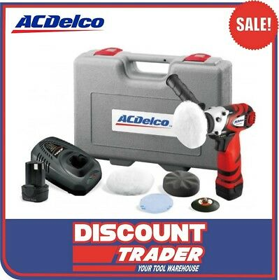 "ACDelco Professional Li-ion 10.8V 3"" (75 mm) 4 Pole Mini Polisher - ARS1210"