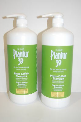 Plantur 39 Phyto Coffein Shampoo Color - 2 x 1250ml
