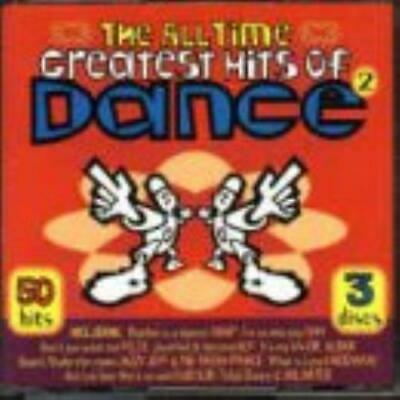 Various Artists : The All Time Greatest Hits Of Dance 2 CD Fast and FREE P & P