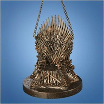 "Game of Thrones - 4"" Resin Throne Xmas Ornament NEW christmas tree decoration"