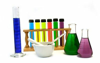 Eisco Wizard's Potion Set Labware Kit Made From Glass Wood and Ceramic