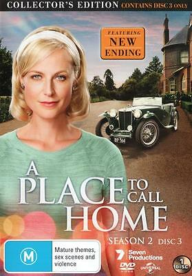A Place to Call Home: Collector's Edition (Season 2 Disc 3) NEW DVD Region 4 AU