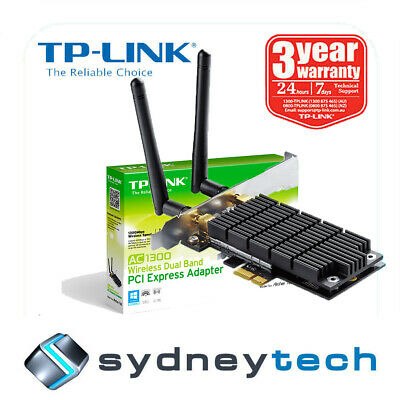 New TP-LINK Archer T6E AC1300 Dual Band Wireless AC PCI Express Adapter