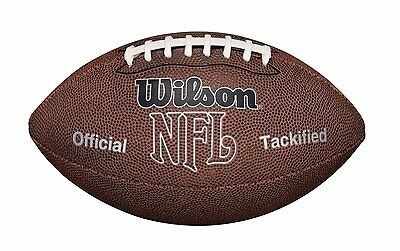 Wilson NFL MVP Football Color: Brown Size: Junior Double Laces Soft waterproof