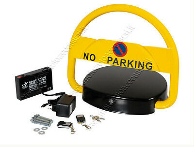 No Prking sighn NSEE AS-BW-02 Automatic Parking Barrier Remote Control Alarm Bel
