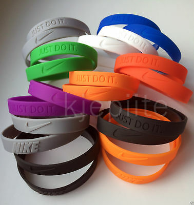 JUST DO IT. Nike baller bracelet jordan nba sport wristband silicone rubber 3D