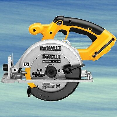 DEWALT 18V Cordless Circular Saw TOP Durability Carbide Tipped Blade Bevel #3996