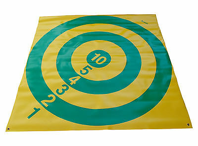 "ACCLAIM Target Diamond Bowls Indoor Outdoor Short Mat Game Seconds 46"" x 46"""